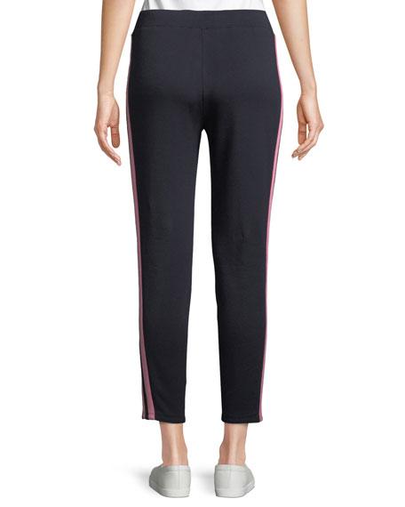Peace Lily Side-Stripe Jogger Pants