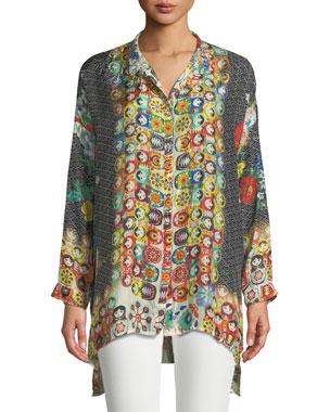 1d6effe61b Plus Size Designer Tops   Sweaters at Neiman Marcus