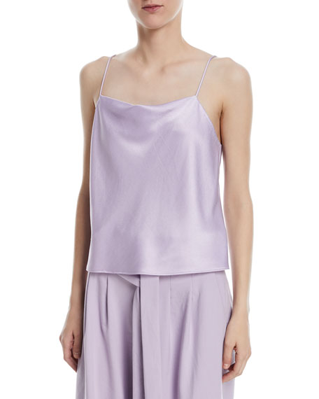 Alice + Olivia Harmon Drapey Slip Tank and