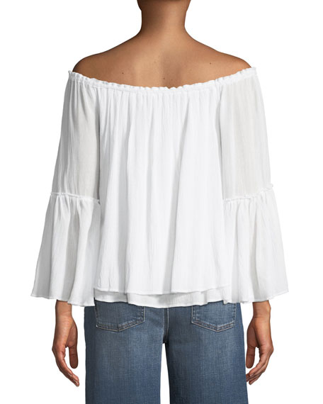 Bahama Off-the-Shoulder Layered Top