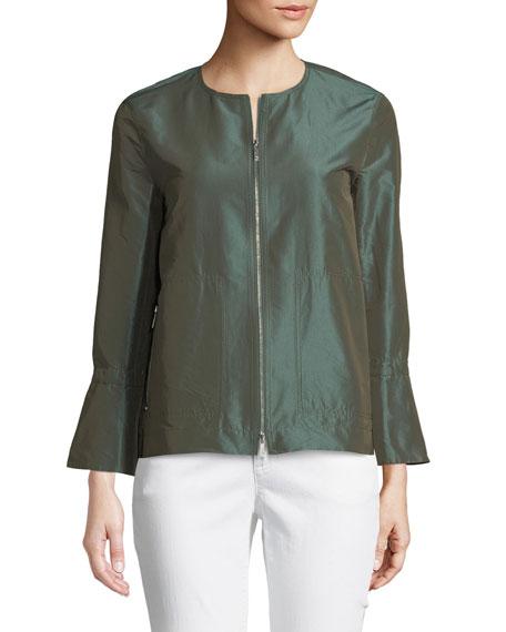 Johnsie Empirical Tech Cloth Zip Jacket
