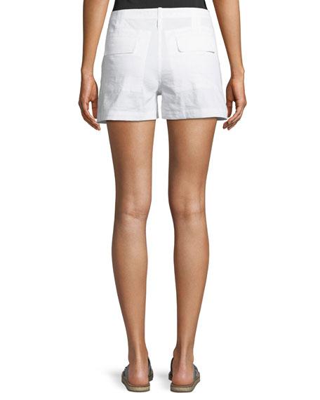 Theory Organic Crunch Wash Cargo Shorts