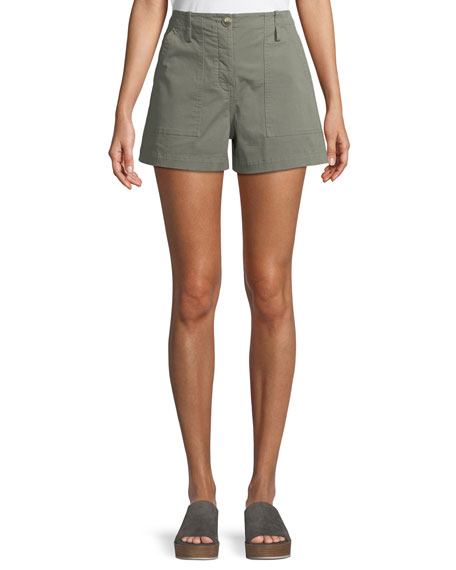 Casual Twill Cargo Shorts by Theory