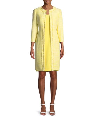 TWO-PIECE COAT & DRESS SET