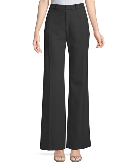 Joseph Ferguson Fluid Wool Wide-Leg Pants