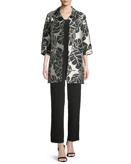 Palm Paradise Jacquard Party Jacket