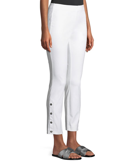 Image 2 of 4: Rag & Bone Simone Cropped Side-Snap Pants