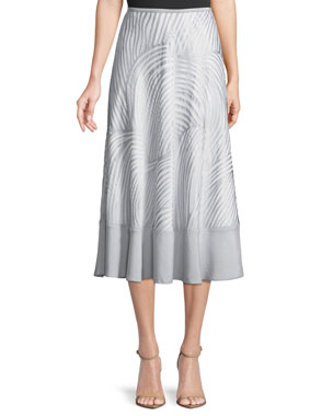 6e25a80db9b NIC+ZOE Bohemian Groves A-line Skirt