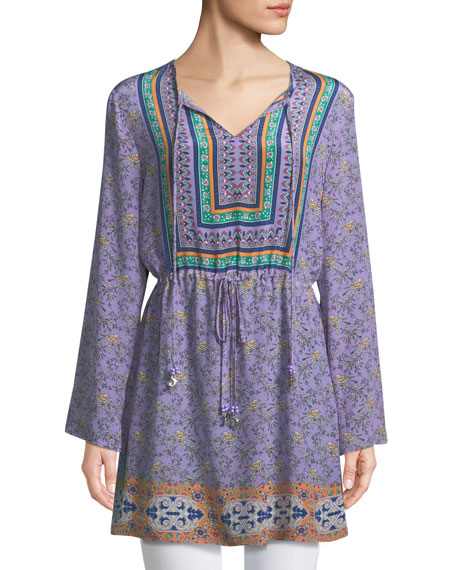 Tolani Lily Grace Drawstring-Waist Tunic and Matching Items