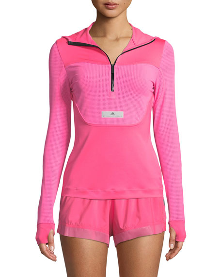 adidas by Stella McCartney Run Hooded Long-Sleeve Performance