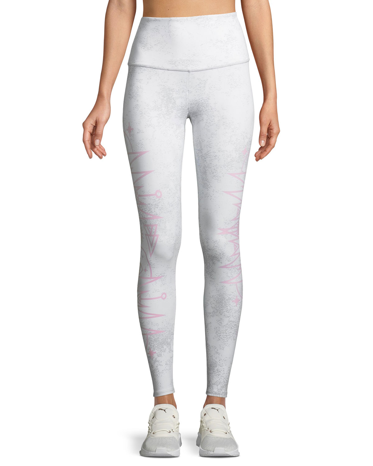 ad298e3c32b8c Onzie High-Rise Camo-Print Cropped Performance Leggings | Neiman Marcus