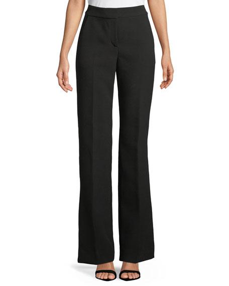 Bella Double-Weave Pants