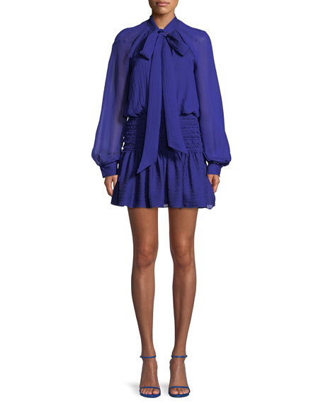 CAMILLA AND MARC Garland Ruched Mini Dress in