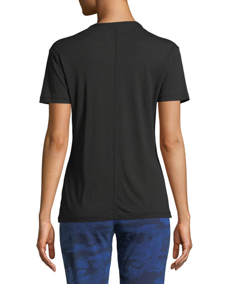 Image 2 of 3: Monrow V-Neck Short-Sleeve Relaxed Tee
