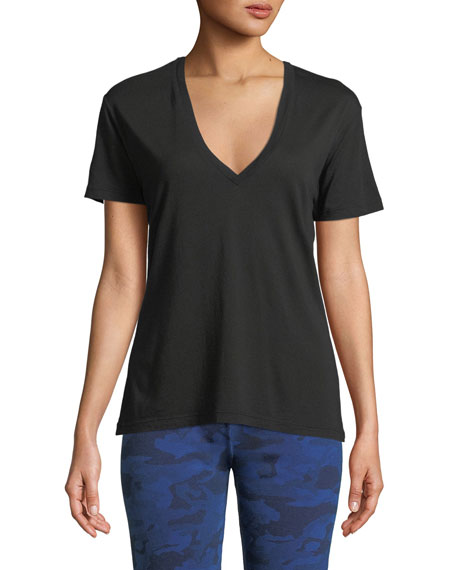 Image 1 of 3: Monrow V-Neck Short-Sleeve Relaxed Tee