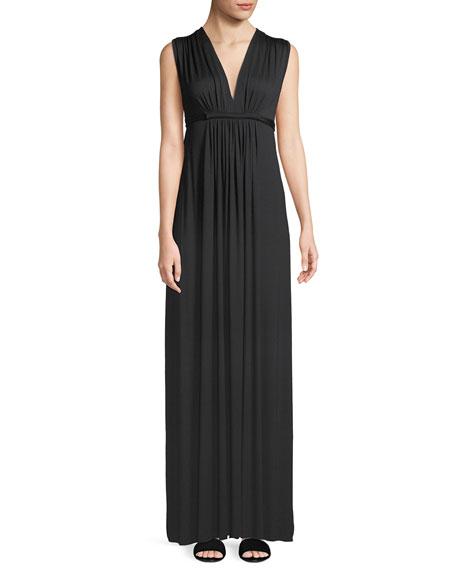 Rachel Pally Long Sleeveless Empire-Waist Caftan Dress