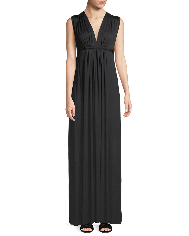Rachel Pally Plus Size Long Sleeveless Empire-Waist Caftan Dress ...