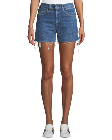 Elizabeth & James Vintage One-of-a-Kind Cutoff Denim Shorts