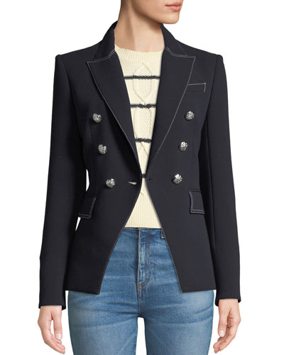 Miller Double-Breasted Blazer Jacket