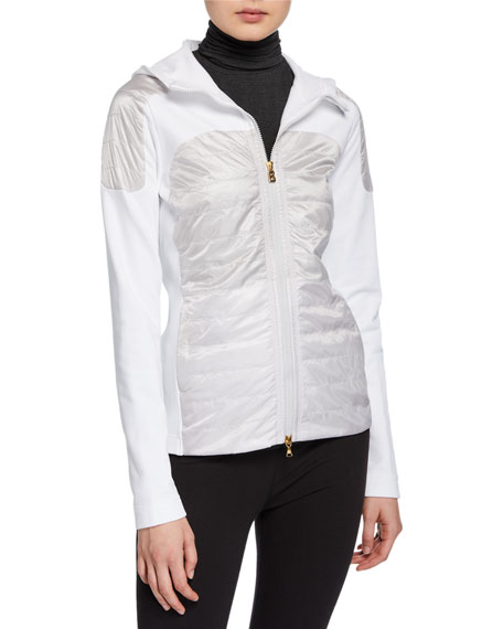 Bogner Colby Long-Sleeve Zipper-Front Fitted Jacket