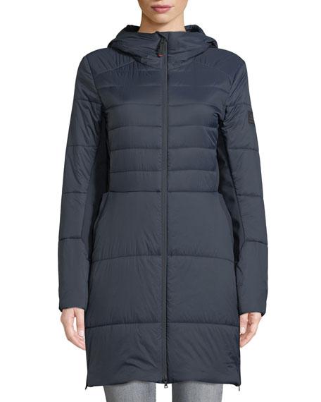 Bogner Jill Fitted Puffer Coat w/ Hood