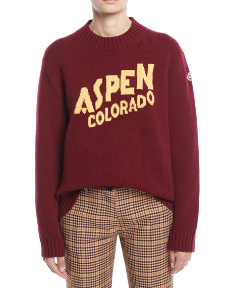 Aspen, Colorado Pullover Sweater