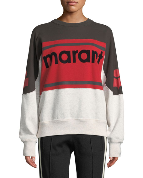 Gallian Logo Colorblock Sweatshirt