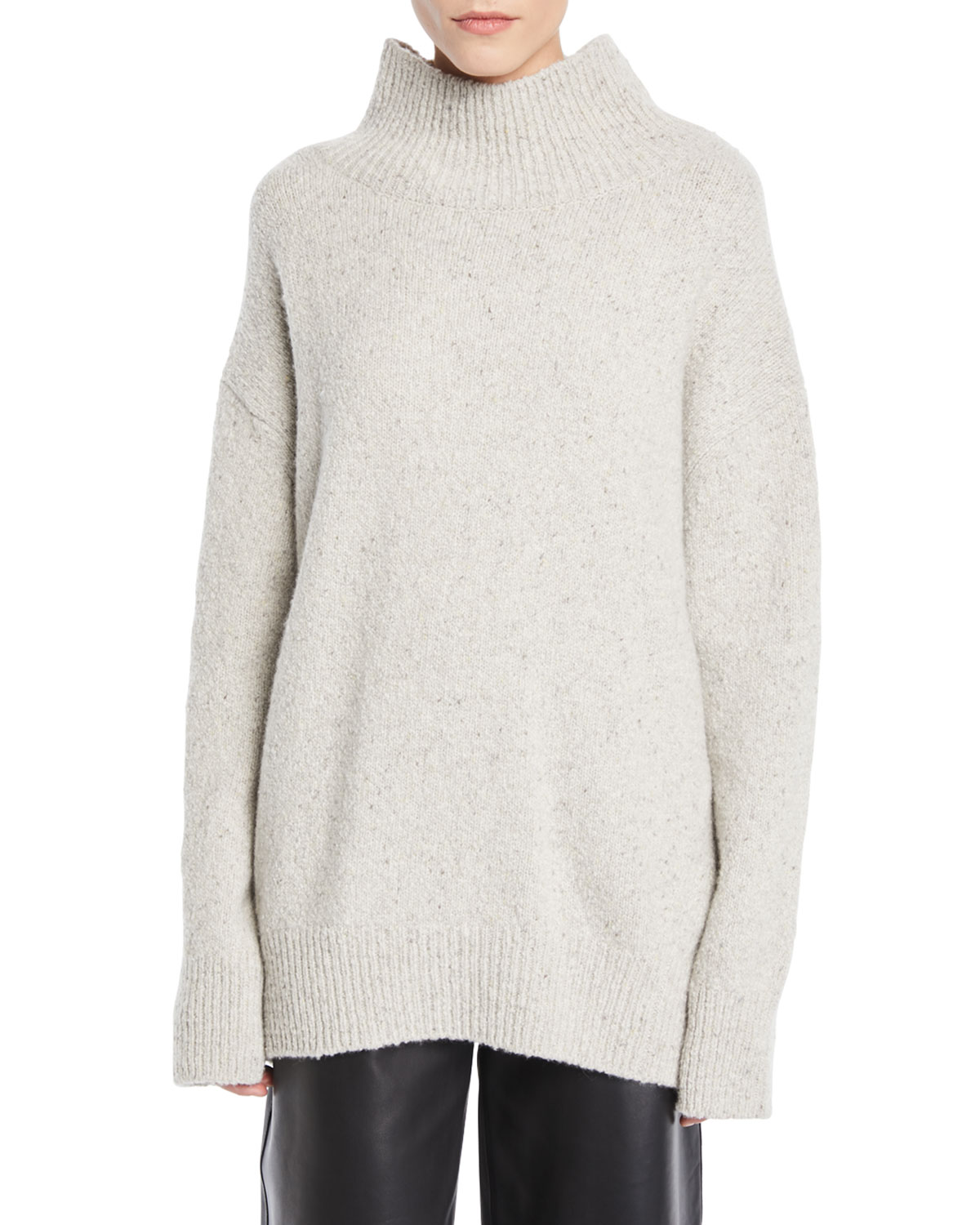4aade3697294 Vince Oversized Turtleneck Cashmere Sweater