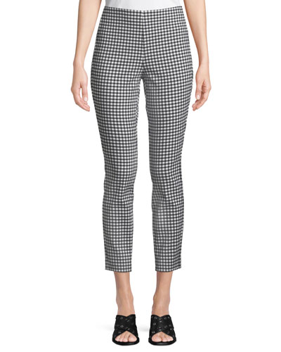 Simone Cropped Gingham Pants