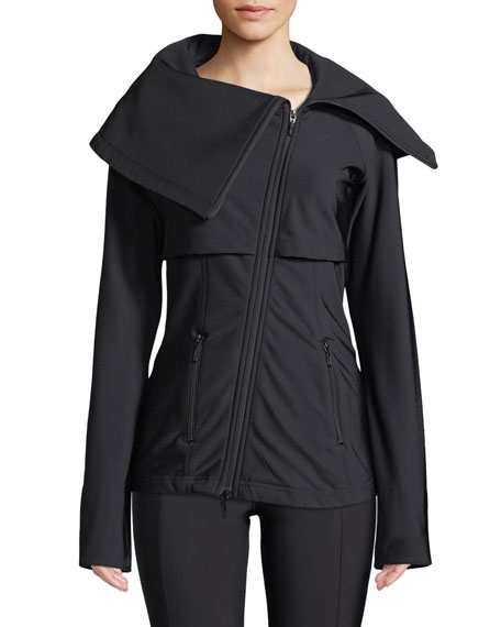 ANATOMIE Lady Lugano Zip-Front Jacket in Black