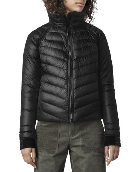 HyBridge Hooded Down Puffer Base Jacket