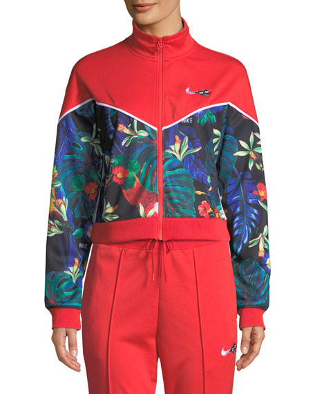 Nike NSW FZ Hyper Femme Track Jacket   Neiman Marcus 36488d2e7cb