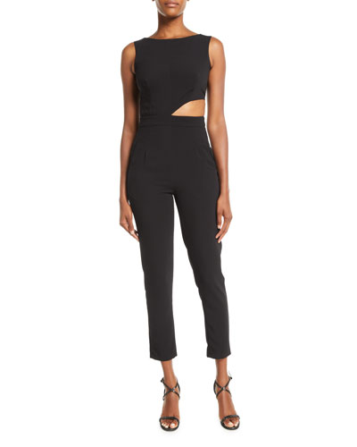 Eleanor Cutout Pantsuit w/ Pockets