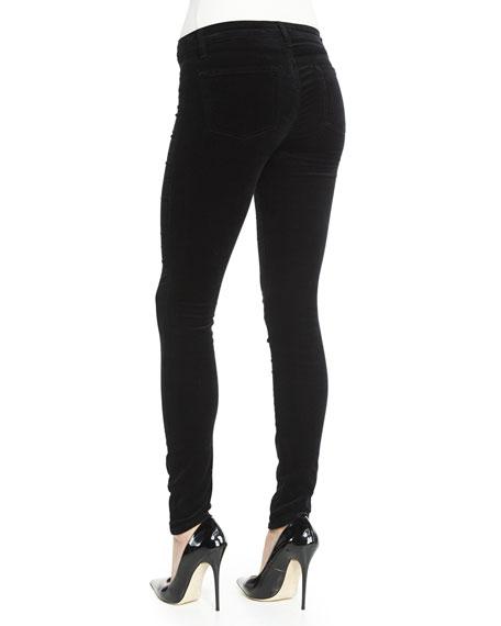 815 Mid-Rise Super-Skinny Velvet Jeans