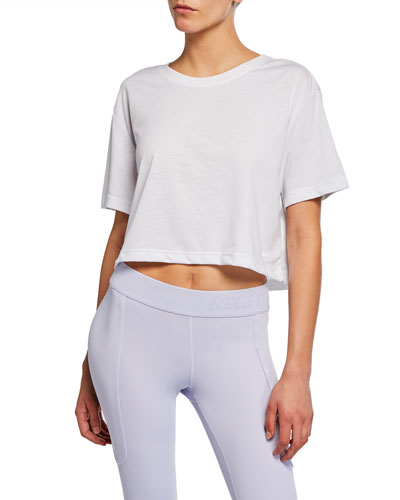 Dri-FIT Short-Sleeve Cropped Tee