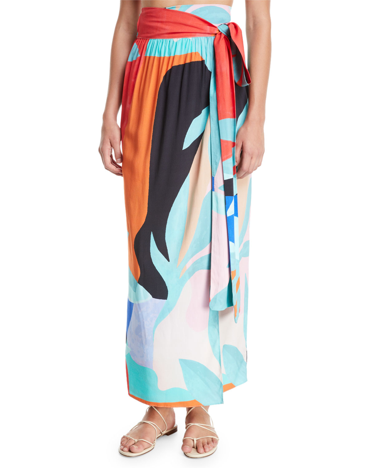 Plus Size Cora Convertible Coverup Wrap Maxi Skirt/Dress