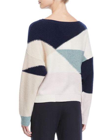 Joie Megu Colorblock Pullover Sweater