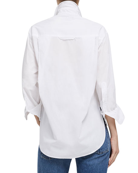 Citizens of Humanity Kayla Button-Front Cotton Shirt