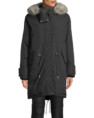 Chantrey Down Parka Jacket w/ Detachable Fur