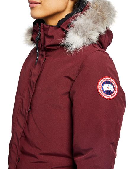 Victoria Fur-Hood Parka Jacket