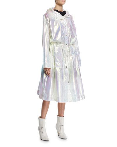 Reflective Transformer Long Raincoat