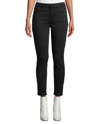 Riche Touch Ankle Skinny Jeans