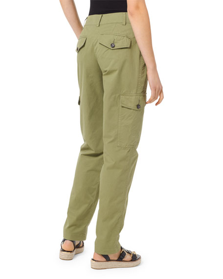 MICHAEL Michael Kors Straight-Leg Cotton Cargo Pants
