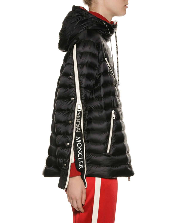 6da8dc72e08e Moncler Stockholm Zip-Sleeve Puffer Jacket