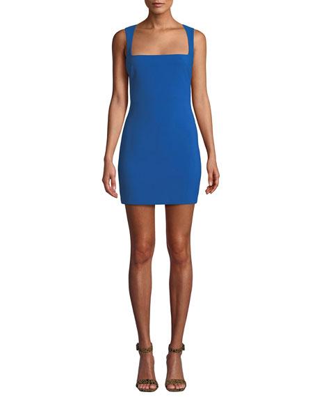 Likely Josephine Sleeveless Square-Neck Mini Dress