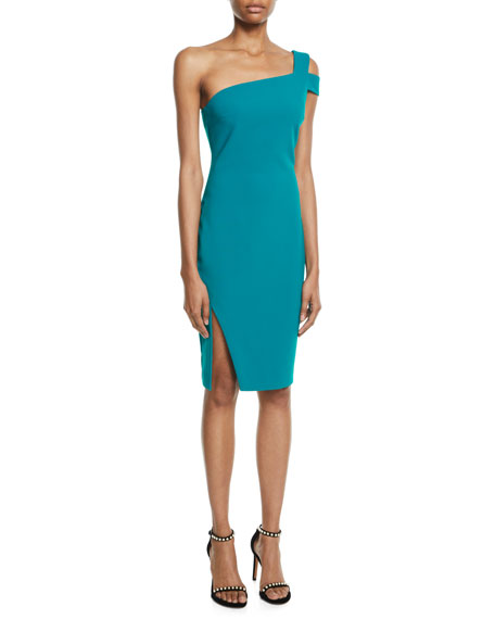 Likely Packard One-Shoulder Cocktail Dress