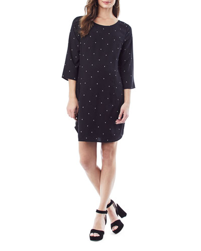 Nursing Layla 3/4-Sleeve Dress