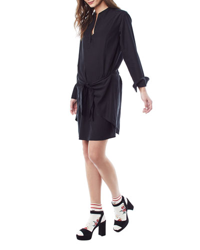 Nursing Lucy Tie-Front Dress