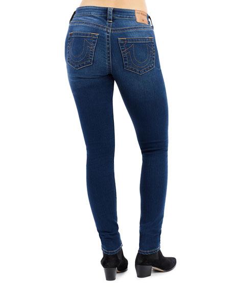 True Religion Jennie Curvy Mid-Rise Ankle Skinny Jeans