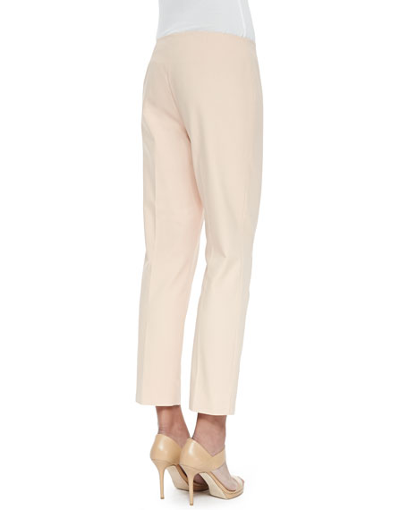 Lafayette 148 New York Cropped Fundamental Bi-Stretch Pants